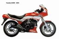 Yamaha XJ600 - 1984