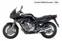 Yamaha XJ600S Diversion - 1998