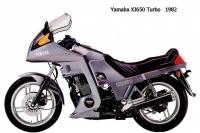 Yamaha XJ650Turbo - 1982