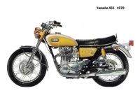 Yamaha XS1 - 1970