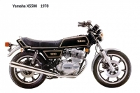Yamaha XS500 - 1978