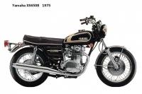 Yamaha XS650B - 1975