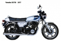 Yamaha XS750 - 1977