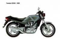Yamaha XZ550 - 1982