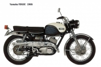 Yamaha YDS3C - 1965