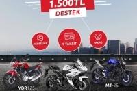 Yamaha'dan 1500 TL Destek