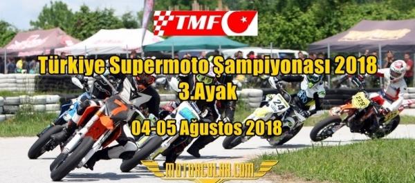 Türkiye Supermoto Şampiyonası 2018 3.Ayak