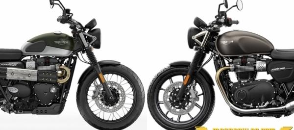 Triumph 2019 Street Scrambler ve Street Twin Modellerini Tanıttı
