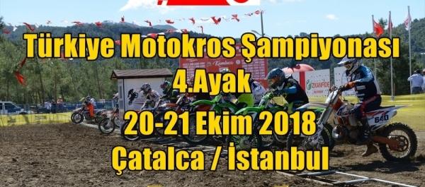 TMF Türkiye Motokros Şampiyonası 2018 4.Ayak