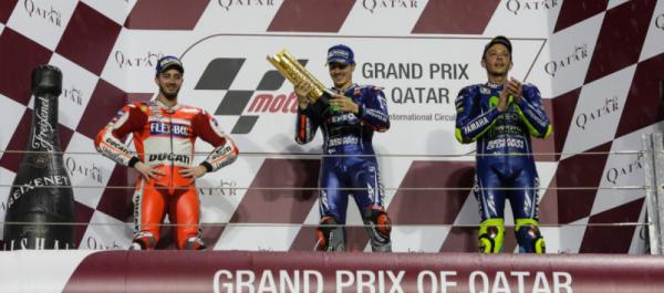 MotoGP Katar: Vinales Kazandı