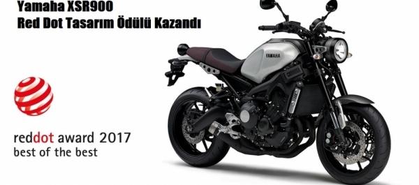 Yamaha XSR900 Red Dot Tasarım Ödülü Kazandı