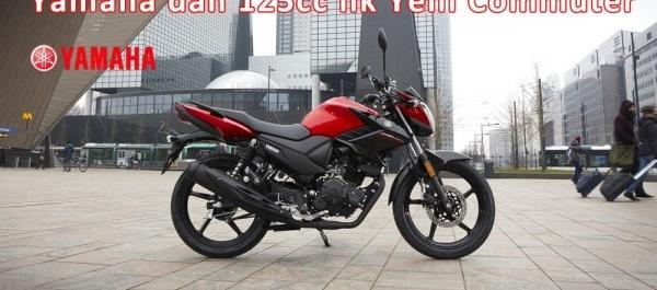 Yamaha'dan 125cc'lik Yeni Commuter